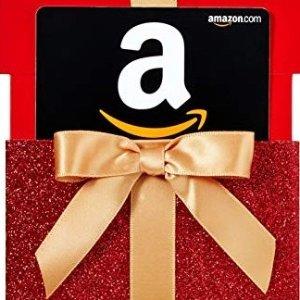 白送$5Amazon.ca 满额送礼卡活动 白送的礼卡已到账请查收