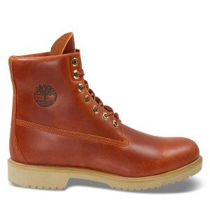 Timberland纯色皮靴