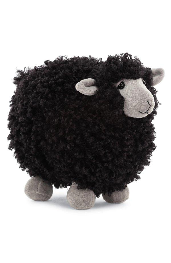 黑色小绵羊公仔