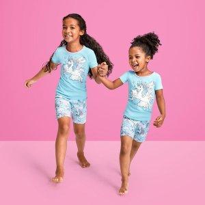 四件套$6+ 包邮Children's Place 儿童睡衣低至2折热卖,连体款2件$6.79