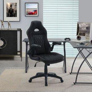 True Innovations 仿皮人体工学转椅 黑色版