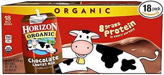 低脂有机巧克力奶 8oz 18盒