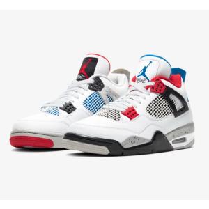 "DJ Khaled也超爱的高颜值球鞋NIKE Air Jordan Retro 4 ""What The"" 红蓝鸳鸯配色 30周年特别版"