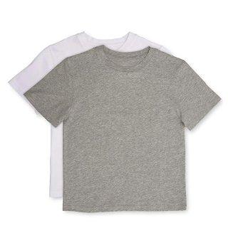 $6.1(原价$20)手慢无:Calvin Klein 男童圆领纯棉短袖T恤,2件装