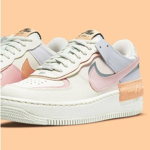 大童款低至£44起 断货飞快Nike Air Force 1 球鞋专场 马卡龙色、 Shadow秋季新色上架