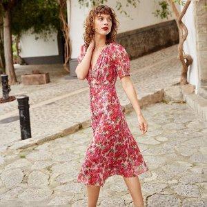 低至4折The Kooples 法系浪漫女装促销 连衣裙$200+