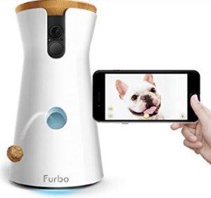 $199(原价$299)高科技逗狗狗神器 Furbo 远程狗狗投食摄像机
