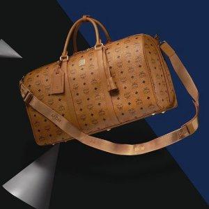 低至7折+最高额外7折MCM 男士经典款双肩包 新款背包 钱包超值热卖