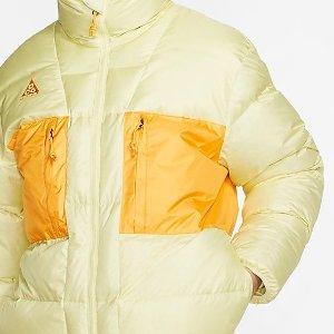 5折起 毛领派克羽绒服$183上新:Nike官网 秋冬外套再现新款 奶油面包服$116