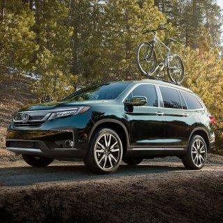 已经到店 起售价$31,4452019 Honda Pilot 8座大型SUV