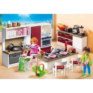 Playmobil城市生活系列:厨房