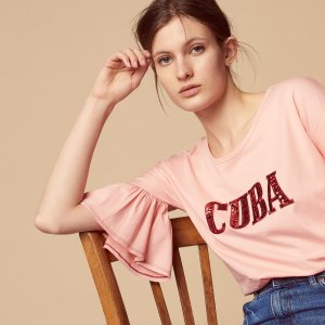Up to 60% Off + Extra 20% Off Pink Clothing Sale @ Sandro Paris