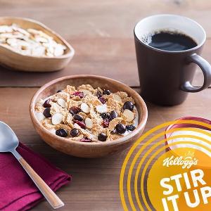 现价$1.49(原价$4.29)Kellogg's 早餐即食麦片限时促销