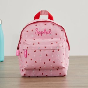 My 1st YearsPersonalized Ladybird Print Mini Backpack Welcome %1