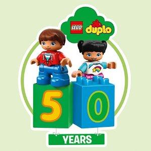 满额送农场套装等  多达4重礼LEGO官网 duplo得宝大颗粒积木50周年庆,促销款8折