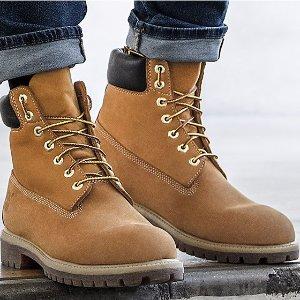 低至2.6折Timberland 精选潮鞋热卖 收大黄靴