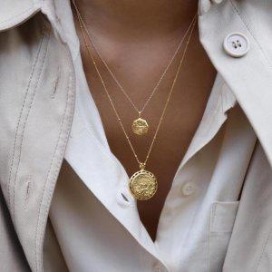 无门槛8折 收罗马硬币项链独家:Missoma 全场618大促上线 时尚博主最爱的饰品 优雅又复古