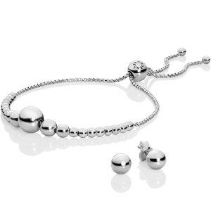 Pandora手链&耳钉套装