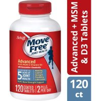 Move Free 维生素D+MSM (蓝瓶) 120粒