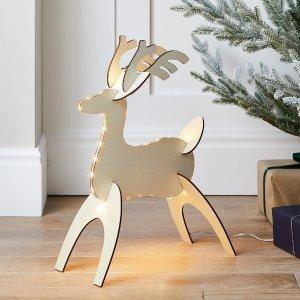 DIY 小鹿灯