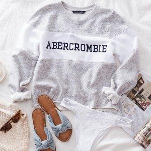 低至3折+额外6.5折最后一天:Abercrombie & Fitch官网 折扣区男女服饰特卖