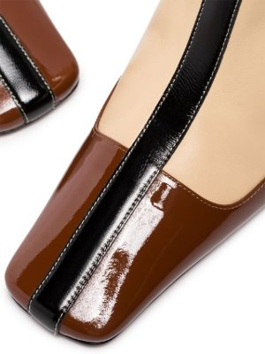 Manu Atelier Duck Panelled Ankle Boots | Farfetch.com