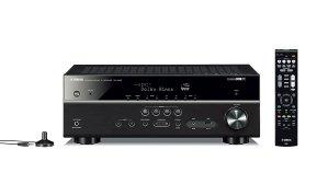 美亚史低 $349.95Yamaha RX-V583BL 7.2声道 功放机 支持4K超高清视频及Alexa