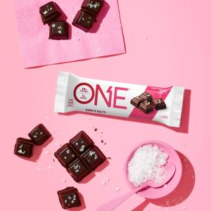 $8.75ONE Protein Bars Dark Chocolate Sea Salt 12 Pack