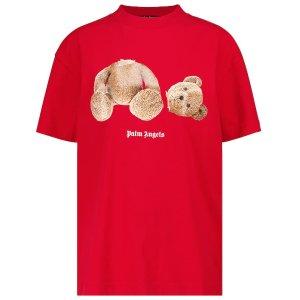 Palm angels7折,仅剩XXS/XS码断头小熊 T恤