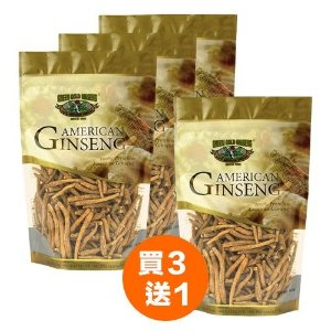 Ungraded American Ginseng Root Small # 1 8oz bag (Buy 3 get 1 Free)