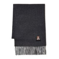 Moschino 小熊羊毛围巾