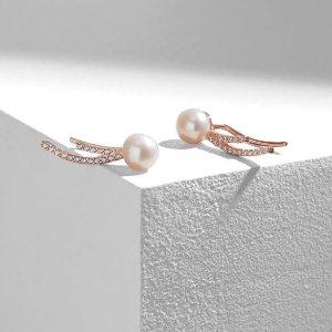 低至6折 珍珠耳环£42Olivia & Pearl 仙女最爱的珍珠首饰冬季大促