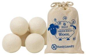 $7.99 Wool Dryer Balls - Natural Fabric Softener