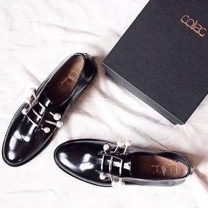 低至6.5折 get杨幂、娜扎同款Coliac 扫街必备高颜值珍珠鞋热卖