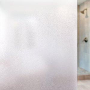$5.75Rabbitgoo 非粘贴式磨砂玻璃窗贴膜 17.7*78.7 Inch