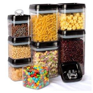 Kitsure 食物密封储存罐8个