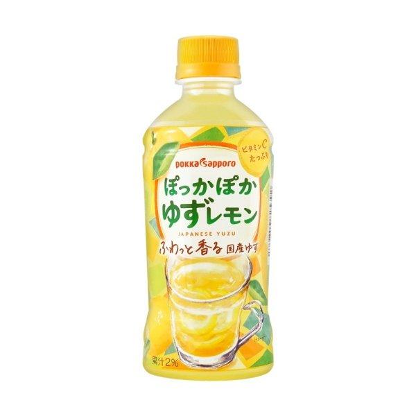 POKKA SAPPORO 柚子果汁饮料 345ml