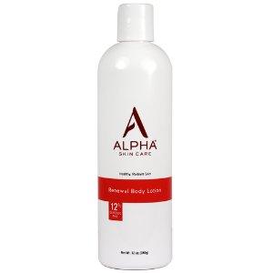 Alpha hydrox  Renewal Body Lotion with 12% Glycolic AHA