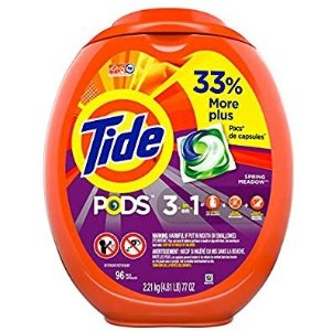 Tide PODS Laundry Detergent Liquid Pacs 96 Count