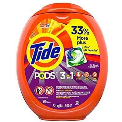 Tide PODS Laundry Detergent Liquid Pacs 96 Count
