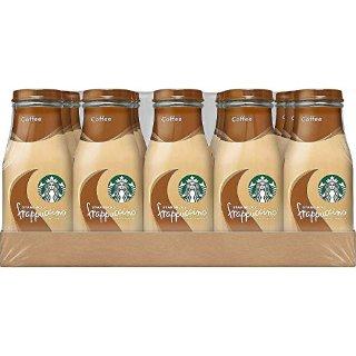 $17.09 一瓶只要$1.13Starbucks 玻璃瓶装星冰乐 经典咖啡口味 15瓶装