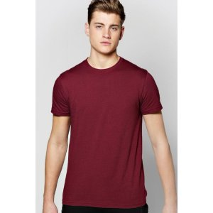 Basic Crew Neck T Shirt - boohooMAN