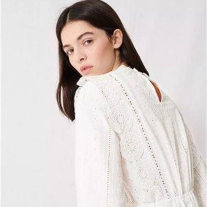 低至3折 收小香风外套最后一天:Maje 法式美衣专场,衬衫$79,小香风美裙$124