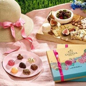 折扣区4折起Godiva官网 大促区超低价 巧克力饼干、伦敦礼盒加入