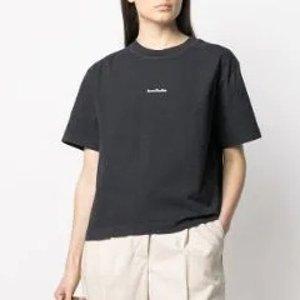 Acne Studios剩xxs/xs/s码印花棉质T恤