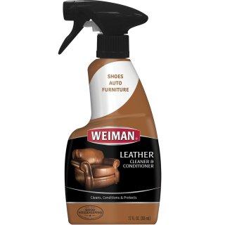 $4.49(原价$9.89)Weiman 威曼皮革清洁护理液 12盎司