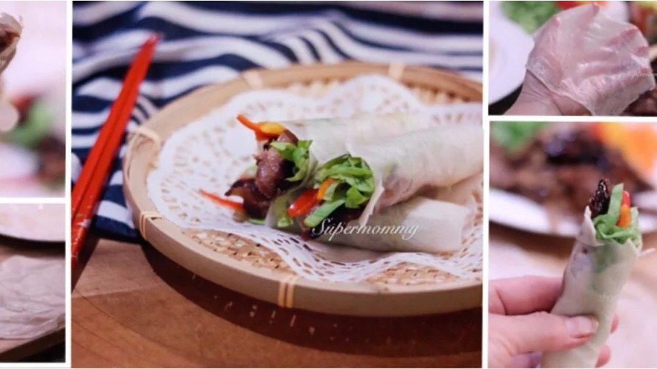 【饺皮秒变春饼+㊙️制卤鸭】教程/在家轻松吃到餐厅的菜