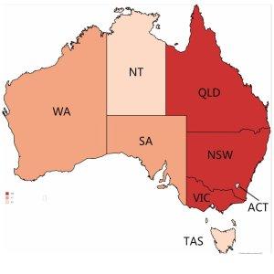 塔州出现首例确诊 全澳确诊病患增至34人