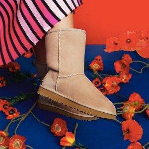 低至5折Ugg Australia 官网周年庆,超萌毛绒凉鞋,雪地靴特卖