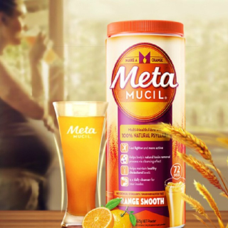 2件立减40 到手¥159/罐美国Metamucil 膳食纤维粉香橙114次吸油脂